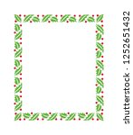 new year vector green christmas ... | Shutterstock .eps vector #1252651432
