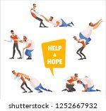 conceptual illustration...   Shutterstock .eps vector #1252667932
