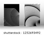 optical contrast. set of... | Shutterstock .eps vector #1252693492
