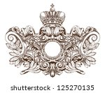coat of arms | Shutterstock .eps vector #125270135