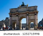 paris  france   october 10 ... | Shutterstock . vector #1252715998