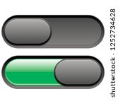 on and off button  | Shutterstock .eps vector #1252734628