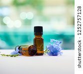 aromatherapy concept...   Shutterstock . vector #1252757128