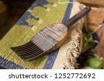traditional tibetan  arpet... | Shutterstock . vector #1252772692