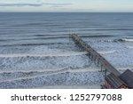 saltburn pier higher view.   Shutterstock . vector #1252797088