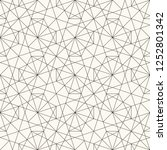 modern abstract geometric... | Shutterstock .eps vector #1252801342