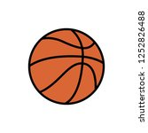Basketball Icon Logo Vector...