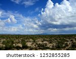 the sonora desert in central... | Shutterstock . vector #1252855285