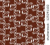 ornament   seamless pattern   Shutterstock .eps vector #125291102