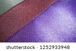 colorful leather ... | Shutterstock . vector #1252933948