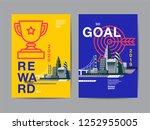 annual report 2019  future ... | Shutterstock .eps vector #1252955005