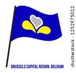 brussels capital region ... | Shutterstock .eps vector #1252975012