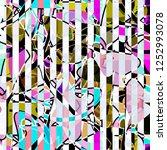 seamless abstract modern... | Shutterstock . vector #1252993078