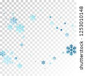 crystal snowflake and circle... | Shutterstock .eps vector #1253010148