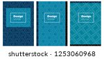 dark blue vector style guide...