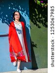 dali   china   oct 2018  the...   Shutterstock . vector #1253067985