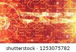 hi tech hud digital and circuit ...