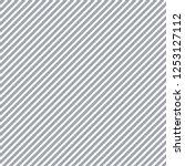 seamless diagonal stripes... | Shutterstock .eps vector #1253127112