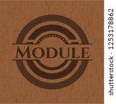 module wooden signboards | Shutterstock .eps vector #1253178862