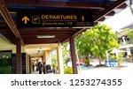 samui island thailand october... | Shutterstock . vector #1253274355