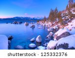 Boulders In Lake Tahoe At...