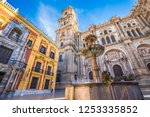 malaga in spain | Shutterstock . vector #1253335852