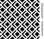 ethnic ornament. polygons... | Shutterstock .eps vector #1253339032