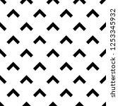 chevrons pattern. curves... | Shutterstock .eps vector #1253345932