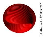 abstract sphere 3d illustration   Shutterstock . vector #1253353942