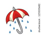 umbrella | Shutterstock .eps vector #125335682