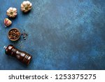 culinary background with... | Shutterstock . vector #1253375275