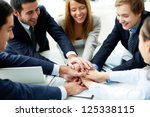 image of business partners... | Shutterstock . vector #125338115