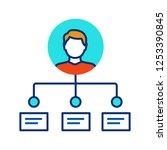 employee abilities and skills...   Shutterstock .eps vector #1253390845