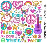 Peace Love And A Dove Flower...