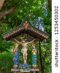Wayside Shrine  Crucifix  At...