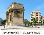 marseille  france   may 18 ... | Shutterstock . vector #1253454532