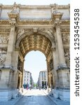 marseille  france   may 18 ... | Shutterstock . vector #1253454538