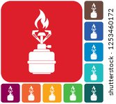 camping stove icon vector.... | Shutterstock .eps vector #1253460172