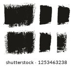 paint brush wide background  ... | Shutterstock .eps vector #1253463238