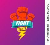 fight night vector modern...   Shutterstock .eps vector #1253501902