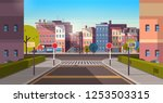 city street building houses... | Shutterstock .eps vector #1253503315