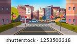 city street building urban... | Shutterstock .eps vector #1253503318