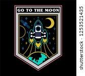 monochrome vintage graphic... | Shutterstock .eps vector #1253521435