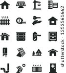 solid black vector icon set  ...   Shutterstock .eps vector #1253561662