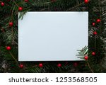 creative christmas background | Shutterstock . vector #1253568505