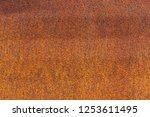 rust on metallic surface.... | Shutterstock . vector #1253611495