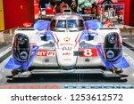 frankfurt   sept 2015  toyota... | Shutterstock . vector #1253612572