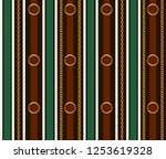 seamless pattern with belts ... | Shutterstock .eps vector #1253619328