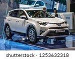 frankfurt   sept 2015  toyta... | Shutterstock . vector #1253632318
