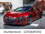 frankfurt   sept 2015  honda... | Shutterstock . vector #1253669242